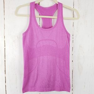 Lululemon Swiftly Tech Racerback Top Pink Size 4